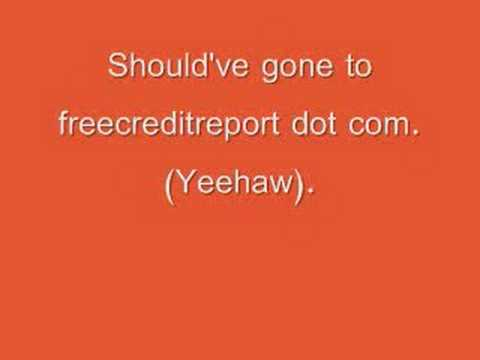 Free Credit Report Pirate Song With Lyrics