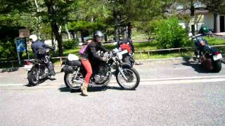 Repeat youtube video Honda GB 250 Clubman & Pretty Woman Rider in japan 10-07-2011.MOV
