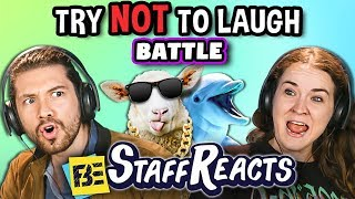 Try To Watch This Without Laughing or Grinning Battle #4 (ft. FBE Staff)