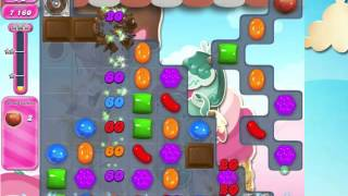 Candy Crush Saga Level 1622 with 5 moves left,  NO BOOSTERS!