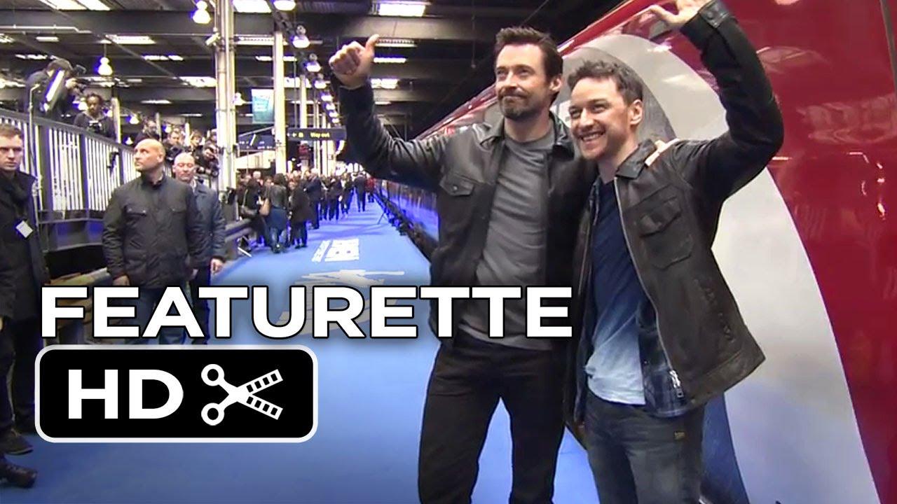 X-Men: Days of Future Past Featurette - UK Trains (2014 ...