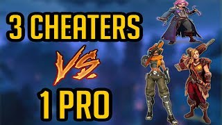 """Paladins - Cassie """"CHEATERS VS PRO PLAYER"""" Ranked!"""