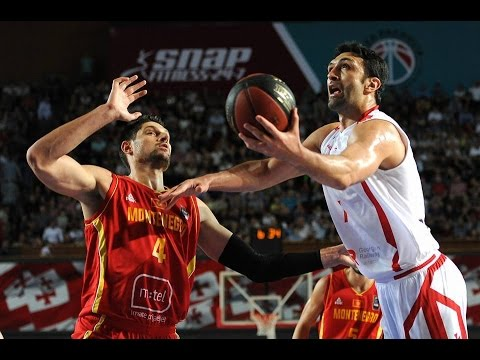 Georgia 74-76 Montenegro 07.09.2016 || Dramatic match with shameful FIBA referees