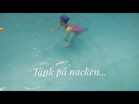Vattengympa-tips: Tänk på nacken