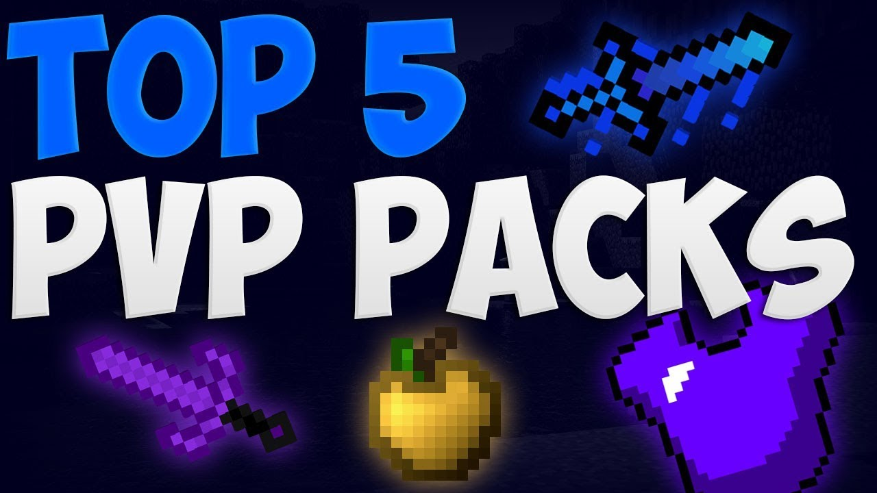 Top 5 Pvp Texture Pack Minecraft 1 7 1 8 1 9 1 10 Low