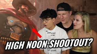 """Overwatch Newbs React to Overwatch Animated Short 