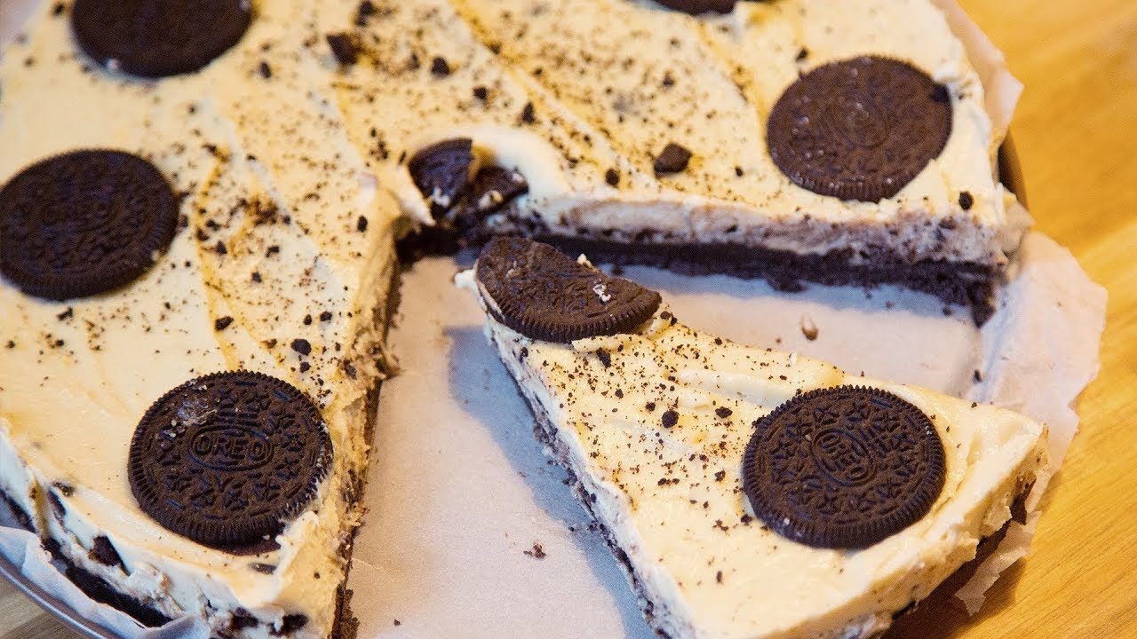 Oreo Torte Veganes No Bake Dessert Lecker Lecker 63 Youtube