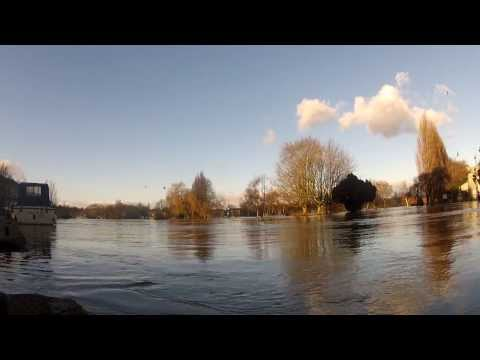 Reading Berkshire Floods England 2014