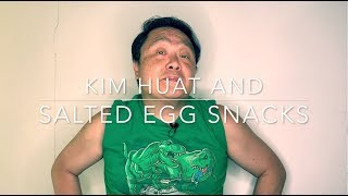 Kim Huat And Salted Egg Snacks