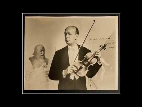 Joseph Szigeti Schubert Rondo in D