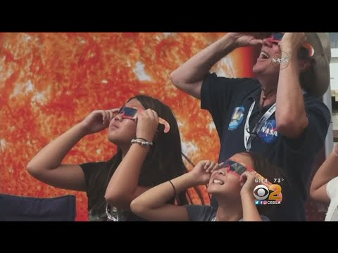 Planetary Scientist Gives Solar Eclipse Safety Advice