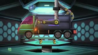 Trolley Truck | Modification Truck Garage | Futuristic Vehicles
