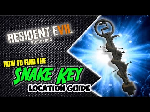 Resident Evil 7 - How to Get the SNAKE KEY (Location Guide)