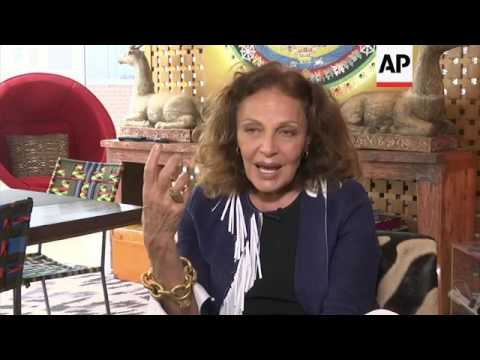 Diane von Furstenberg says fashion is 'a reflection of our time'