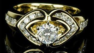 Золотое кольцо с бриллиантами 0.87 карат(, 2013-10-29T06:48:44.000Z)