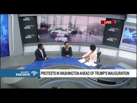 Riots in Washington ahead of Trump's inauguration