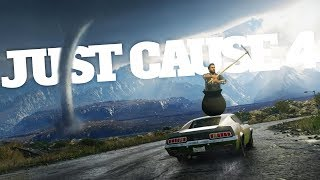 Download Video Tornado Destroys Entire City in Just Cause 4 - Getting Over It Easter Egg - Just Cause 4 Gameplay MP3 3GP MP4