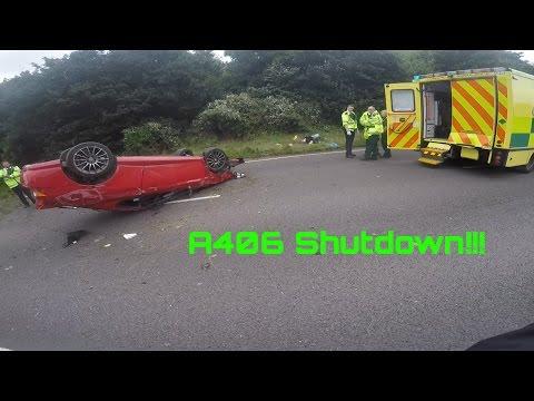 Crash on the a406
