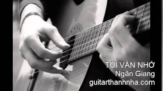 TÔI VẪN NHỚ - Guitar Solo