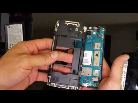 How to replace LG Leon LCD Glass Screen | Screen Replacement