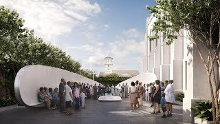 Michael Arad unveils Emanuel Nine Memorial to commemorate Charleston church shooting