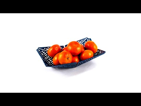 Bloom – Bowl (Stop Motion) (Flat pack home accessories)