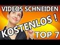 Videobearbeitungsprogramm kostenlos Deutsch. Das Beste zum Videos schneiden / bearbeiten TOP 7 !