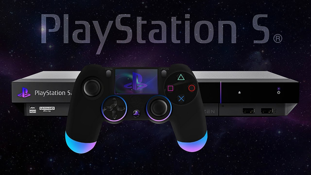 Playstation 5 Ps5 Reveal Tech Specs Design Dualshock 5 Concept