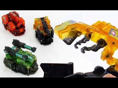신제품 터닝메카드? 중국 360 공룡 탱크 변신 자동차 (완전 멋짐)  [대문밖장난감]