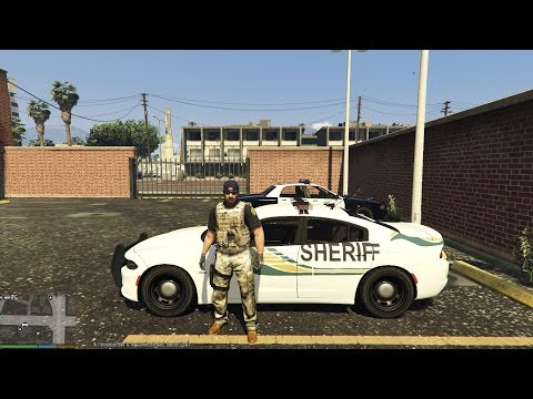 "Grand Theft Auto 5: LSPDFR- ""Sheriff TaskForce"""
