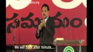 Living in the Kingdom 2 (Telugu Message) by Samuel R. Patta