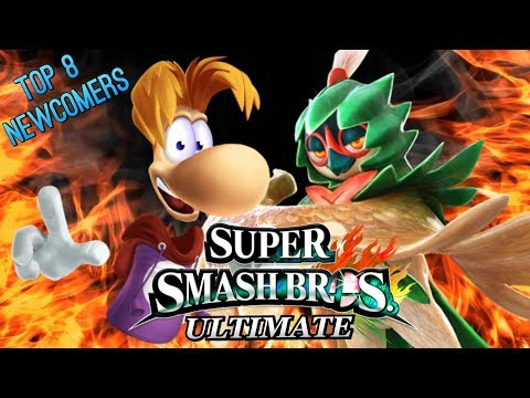 Smash Bros. Ultimate - My Top 8 Newcomers