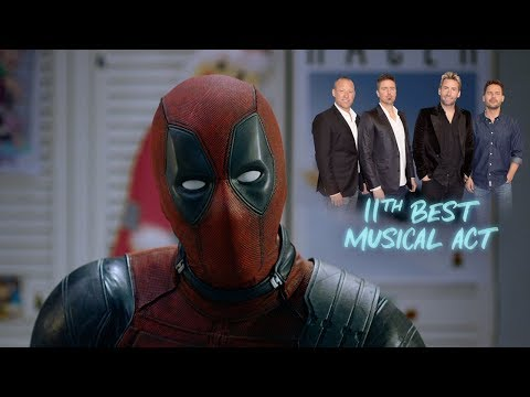 Francesca - Deadpool Is Sick Of Everyone Ripping On Nickelback