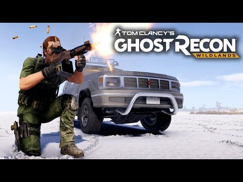 Ghost Recon Wildlands Gameplay: Exploring DEADLY SALT FLATS! - Multiplayer Free Roam