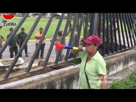 #15May Exchavista le dice sus verdades a la GNB