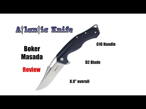Boker Masada Folding Knife Review | Atlantic Knife Reviews