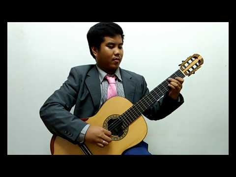 Siciliana by J. S. Bach played on a Vu Tran Classical Guitar by Johnrel Trinidad with iSolo