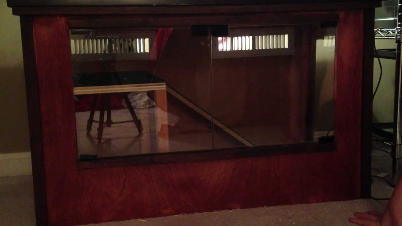 Custom Reptile Enclosure FOR SALE! - YouTube