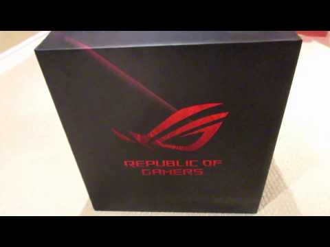 ROG GL12 Gaming PC Unboxing