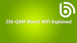 What is 256-QAM Wave2 WiFi?