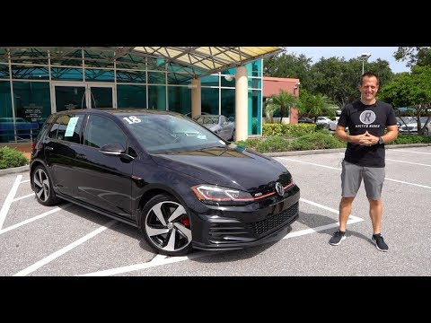 Is the VW Golf GTI Autobahn the BEST way to BUY your HOT HATCH?