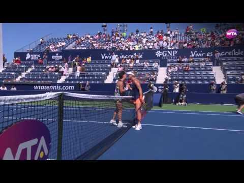 2017 Abierto GNP Semifinal   Angelique Kerber vs Carla Suarez Navarro   WTA Highlights