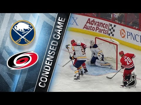 Buffalo Sabres vs Carolina Hurricanes - Dec.23, 2017 | Game Highlights | NHL 2017/18. Обзор матча