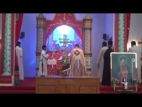 Patron Saints Perunal 2015 - Sunday - Holy Qurbana 1