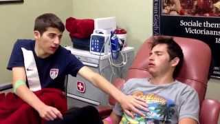 Funny reaction:Two brothers after getting their wisdom teeth out