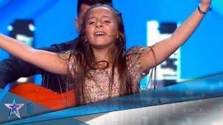 Esta NIÑA de 10 AÑOS BAILA FLAMENCO como una PROFESIONAL | Audiciones 9 | Got Talent España 5 (2019)