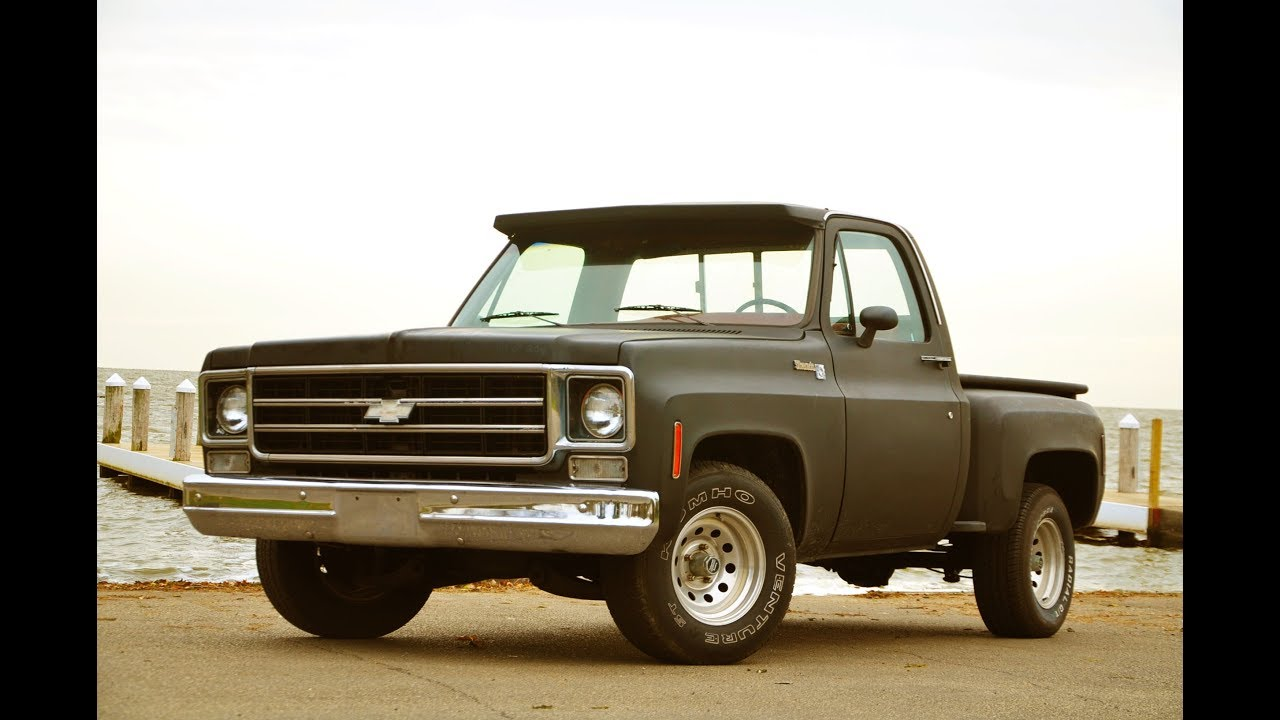 1976 Chevy C10 Stepside Pickup 350 Sbc 5 Speed Manual Sold Youtube Truck 4x4