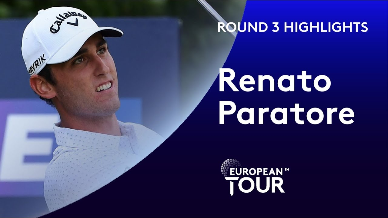 Renato Paratore leads after 5 under par round | Betfred British Masters