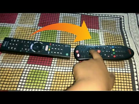 How to sync dish tv remote with any other tv remote (hindi) || how to on tv mode in dishtv remote