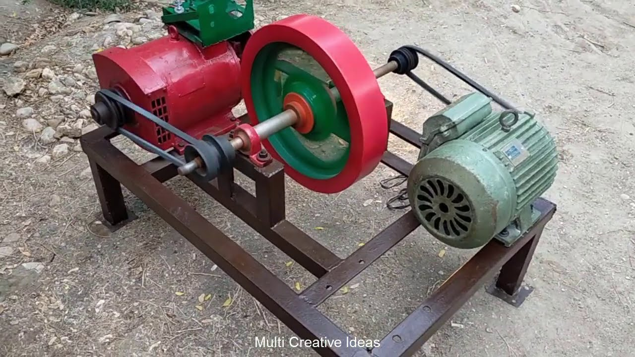 Download How to Make Free Electricity Generator  at home 5kw 230v  Motor Flywheel Free Electricity Generator
